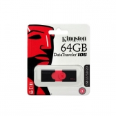 Pen Drive Kingston Datatraveler 106 Usb 3.1 64Gb - Dt106/64Gb